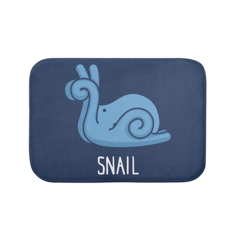 Snail (Not an Octopus) Home Bath Mat by Gyledesigns' Artist Shop