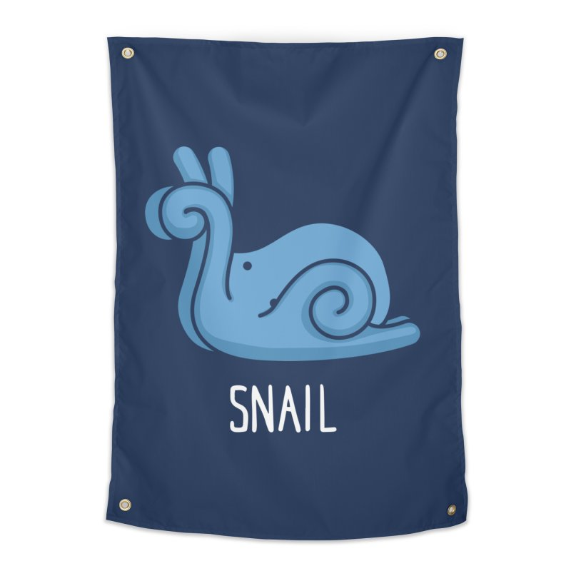 Snail (Not an Octopus) Home Tapestry by Gyledesigns' Artist Shop