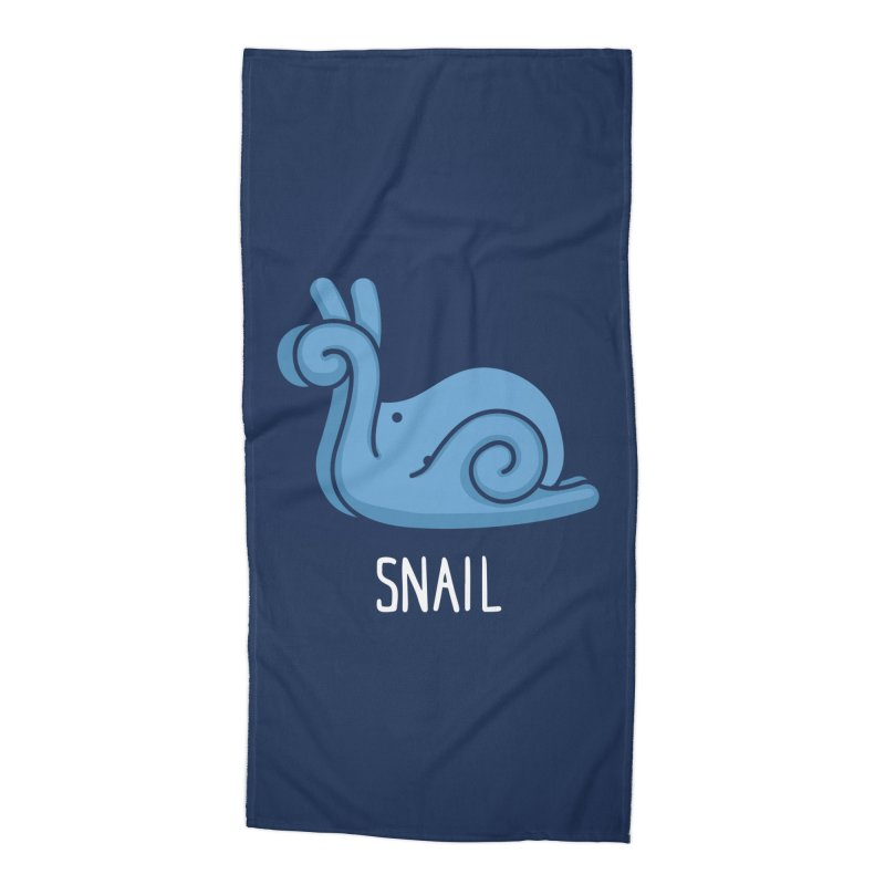 Snail (Not an Octopus) Accessories Beach Towel by Gyledesigns' Artist Shop