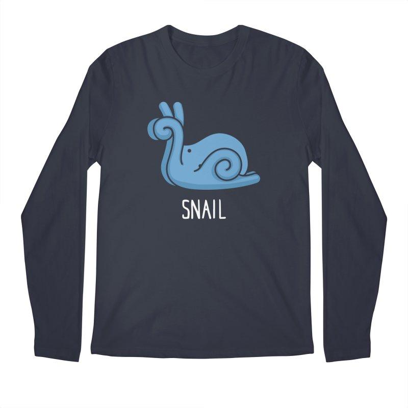 Snail (Not an Octopus) Men's Longsleeve T-Shirt by Gyledesigns' Artist Shop