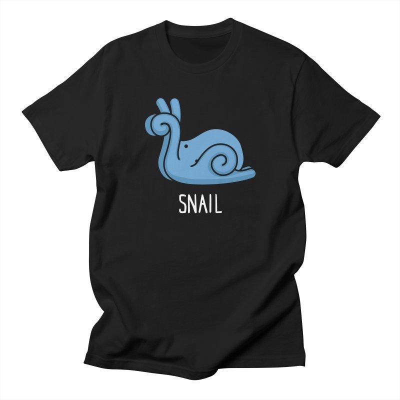 Snail (Not an Octopus) Women's Unisex T-Shirt by Gyledesigns' Artist Shop