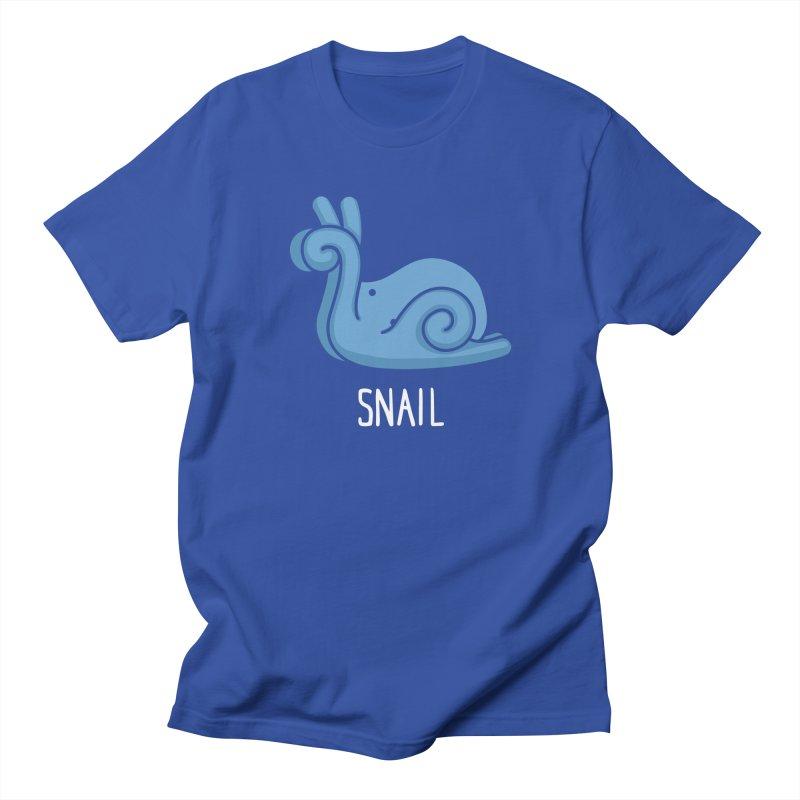 Snail (Not an Octopus) Men's T-shirt by Gyledesigns' Artist Shop