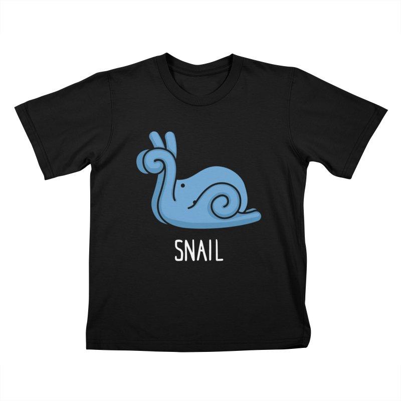 Snail (Not an Octopus) Kids T-shirt by Gyledesigns' Artist Shop