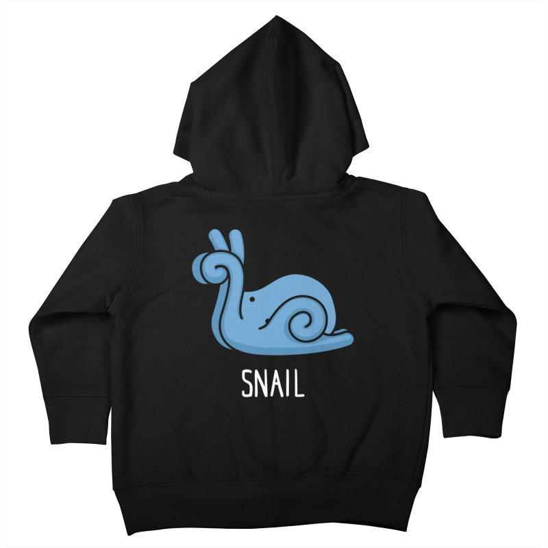 Snail (Not an Octopus) Kids Toddler Zip-Up Hoody by Gyledesigns' Artist Shop