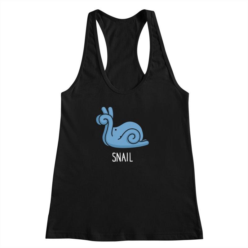 Snail (Not an Octopus) Women's Racerback Tank by Gyledesigns' Artist Shop