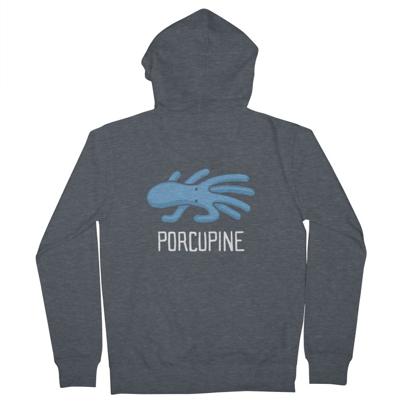Porcupine (Not an Octopus) Men's Zip-Up Hoody by Gyledesigns' Artist Shop
