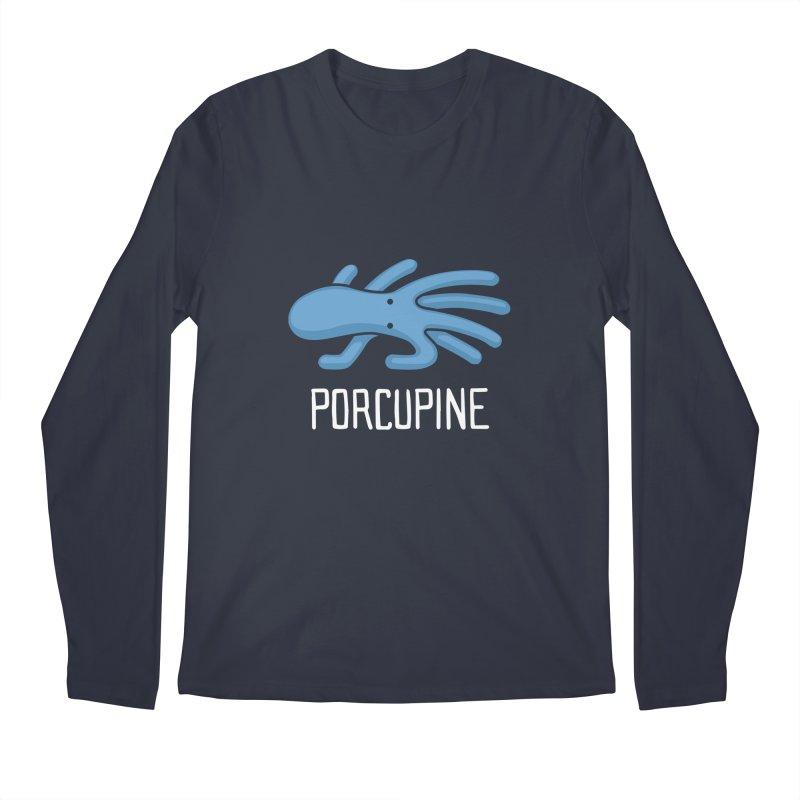 Porcupine (Not an Octopus) Men's Longsleeve T-Shirt by Gyledesigns' Artist Shop