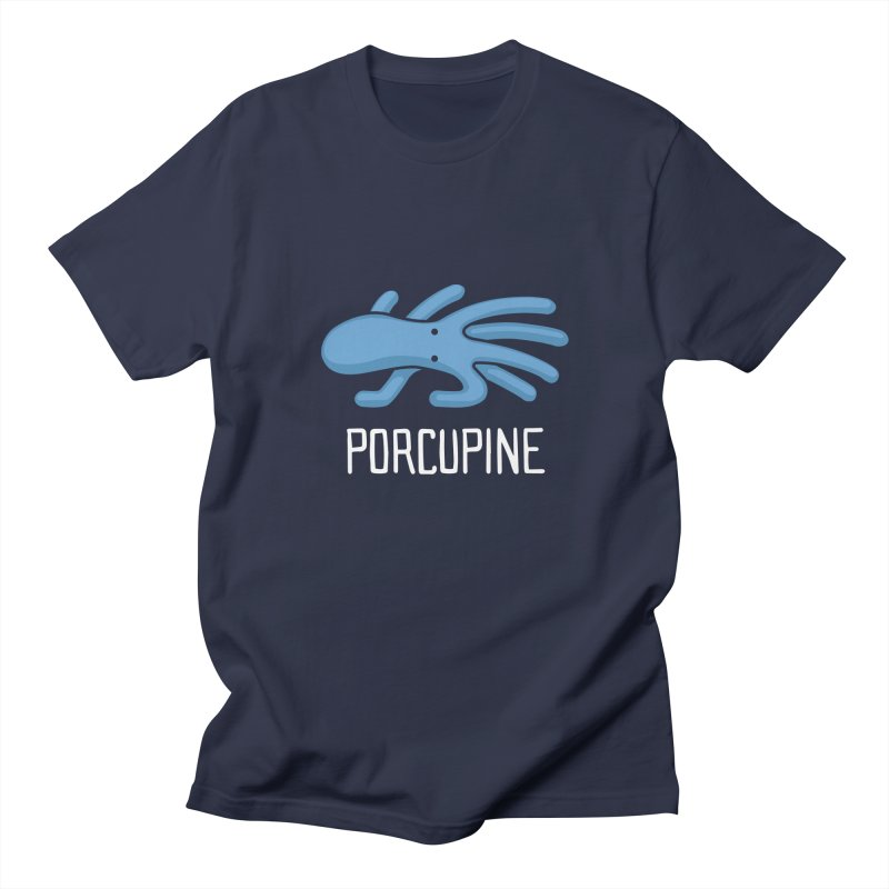 Porcupine (Not an Octopus) Men's T-shirt by Gyledesigns' Artist Shop