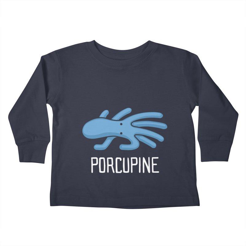 Porcupine (Not an Octopus) Kids Toddler Longsleeve T-Shirt by Gyledesigns' Artist Shop
