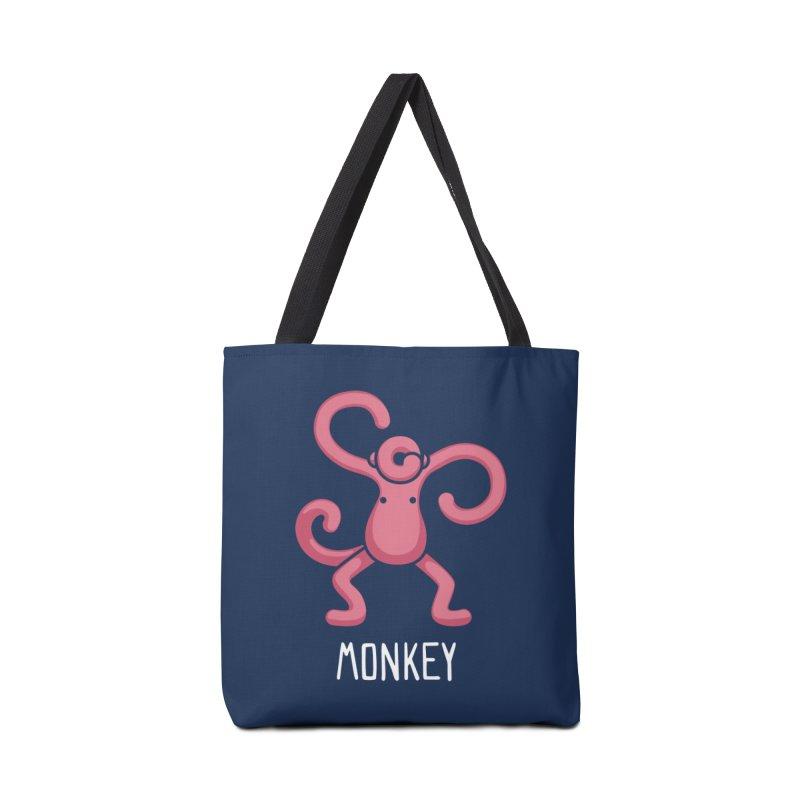 Monkey (Not an Octopus) Accessories Bag by Gyledesigns' Artist Shop