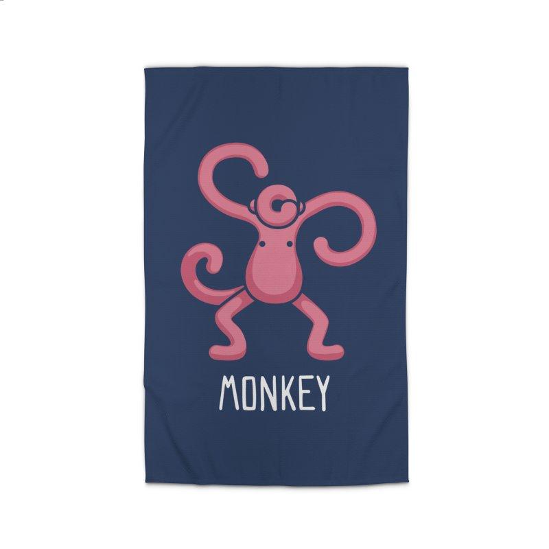Monkey (Not an Octopus) Home Rug by Gyledesigns' Artist Shop