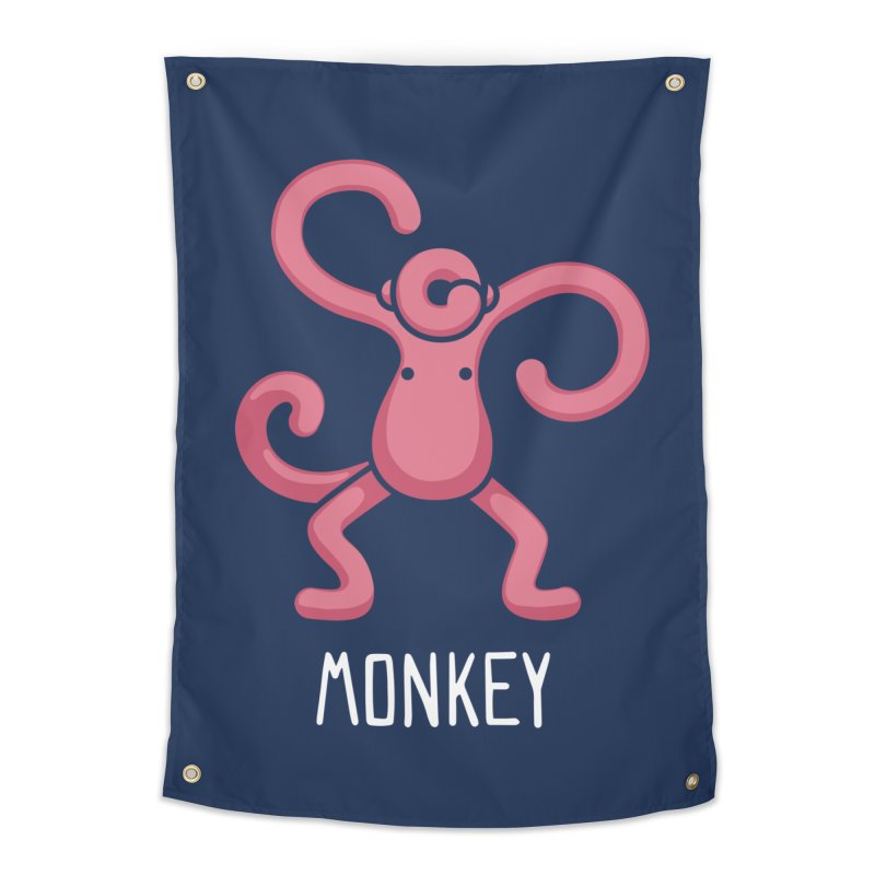 Monkey (Not an Octopus) Home Tapestry by Gyledesigns' Artist Shop