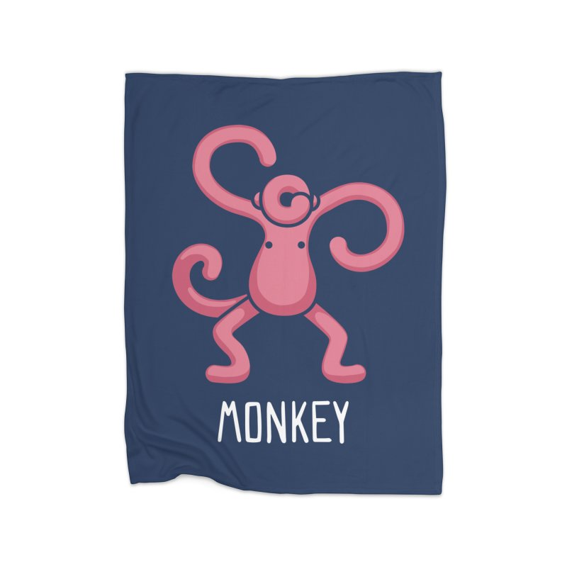 Monkey (Not an Octopus) Home Blanket by Gyledesigns' Artist Shop