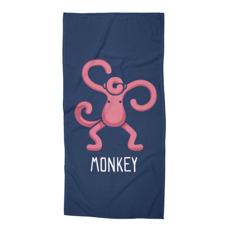 Monkey (Not an Octopus) Accessories Beach Towel by Gyledesigns' Artist Shop