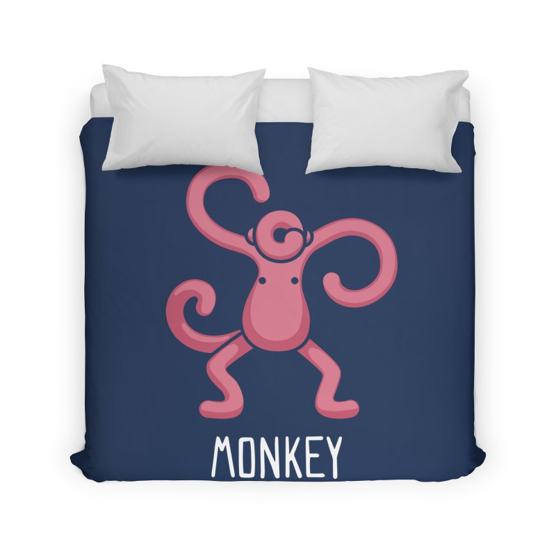 Monkey (Not an Octopus) Home Duvet by Gyledesigns' Artist Shop