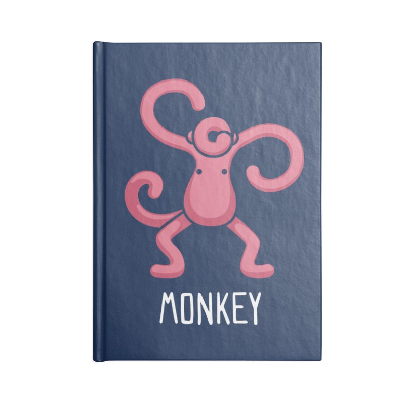 Monkey (Not an Octopus) Accessories Notebook by Gyledesigns' Artist Shop