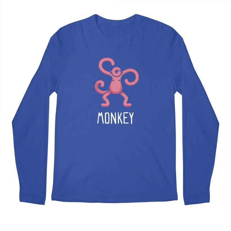 Monkey (Not an Octopus) Men's Longsleeve T-Shirt by Gyledesigns' Artist Shop