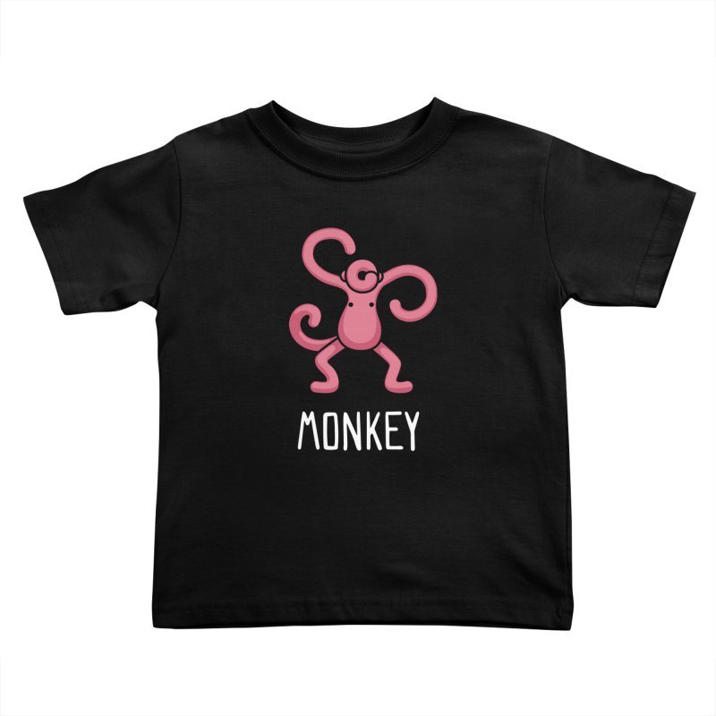 Monkey (Not an Octopus) Kids Toddler T-Shirt by Gyledesigns' Artist Shop