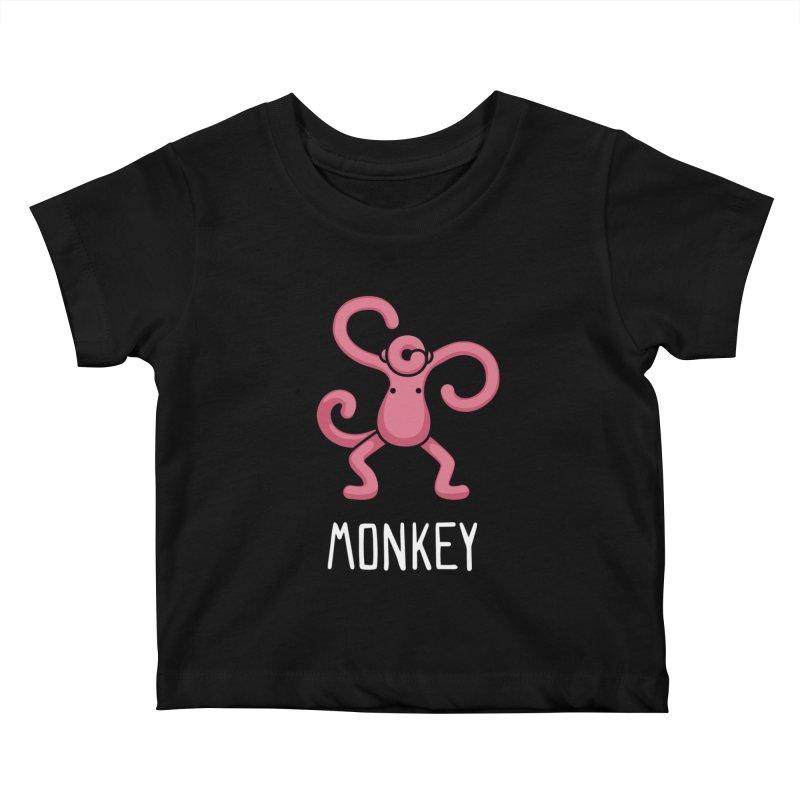 Monkey (Not an Octopus) Kids Baby T-Shirt by Gyledesigns' Artist Shop