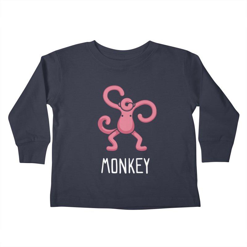Monkey (Not an Octopus) Kids Toddler Longsleeve T-Shirt by Gyledesigns' Artist Shop