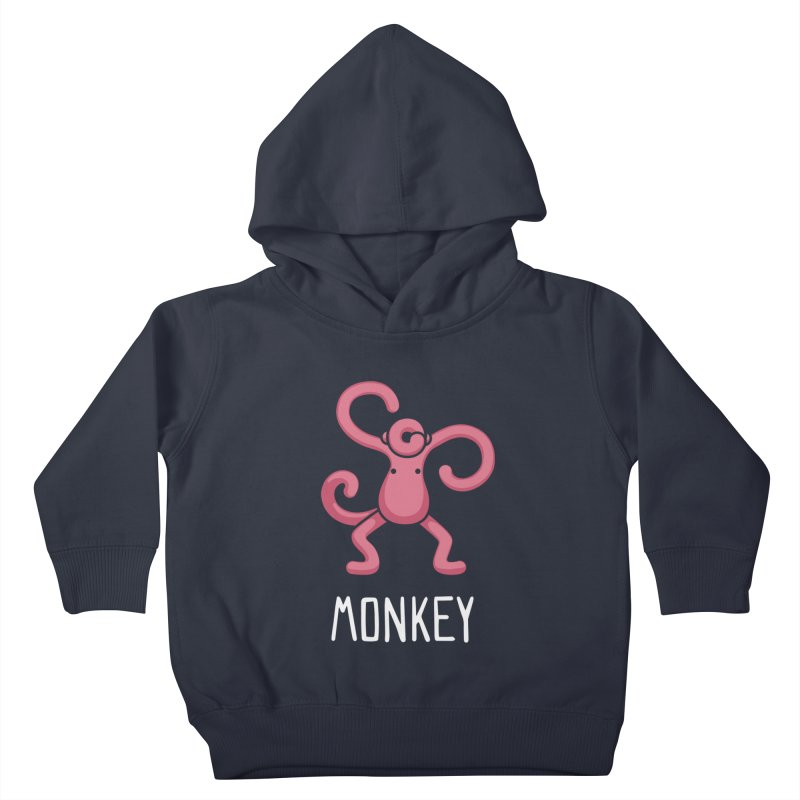 Monkey (Not an Octopus) Kids Toddler Pullover Hoody by Gyledesigns' Artist Shop