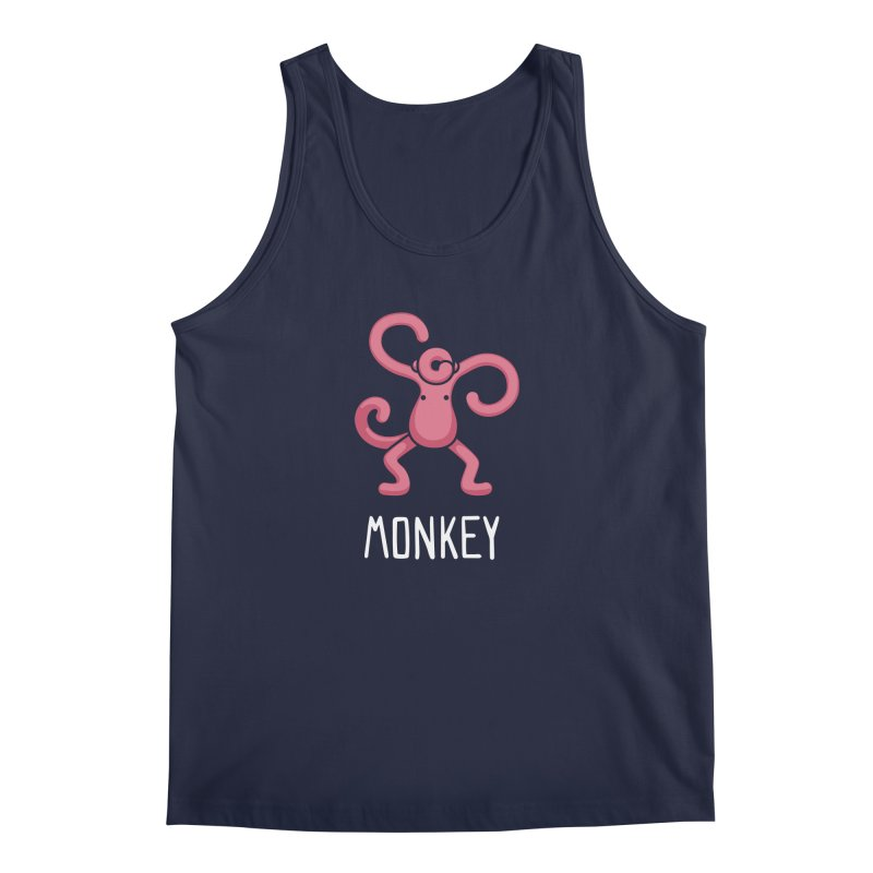 Monkey (Not an Octopus) Men's Tank by Gyledesigns' Artist Shop