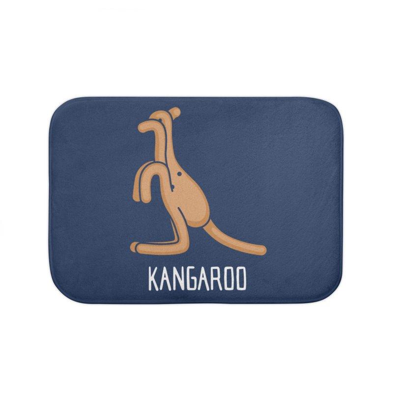 Kangaroo (Not an Octopus) Home Bath Mat by Gyledesigns' Artist Shop