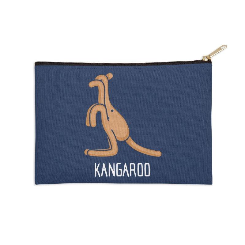 Kangaroo (Not an Octopus) Accessories Zip Pouch by Gyledesigns' Artist Shop