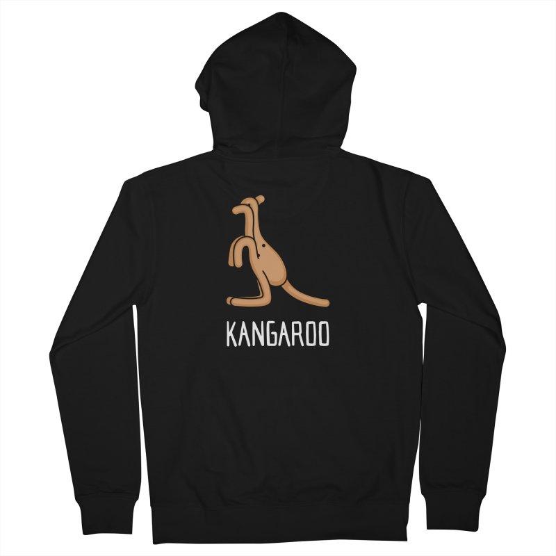 Kangaroo (Not an Octopus) Women's Zip-Up Hoody by Gyledesigns' Artist Shop
