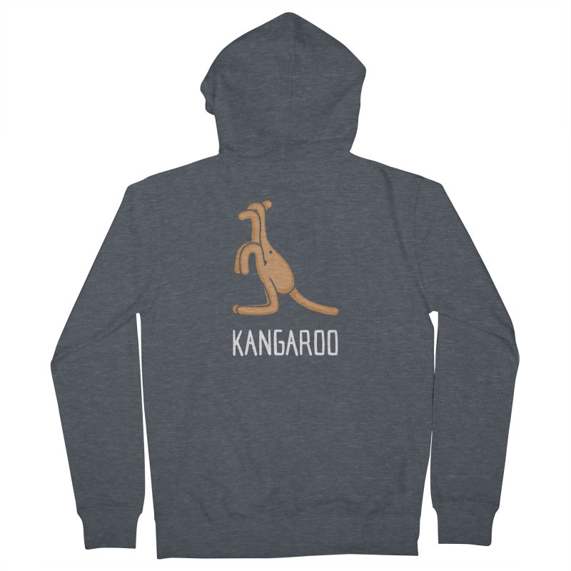 Kangaroo (Not an Octopus) Men's Zip-Up Hoody by Gyledesigns' Artist Shop