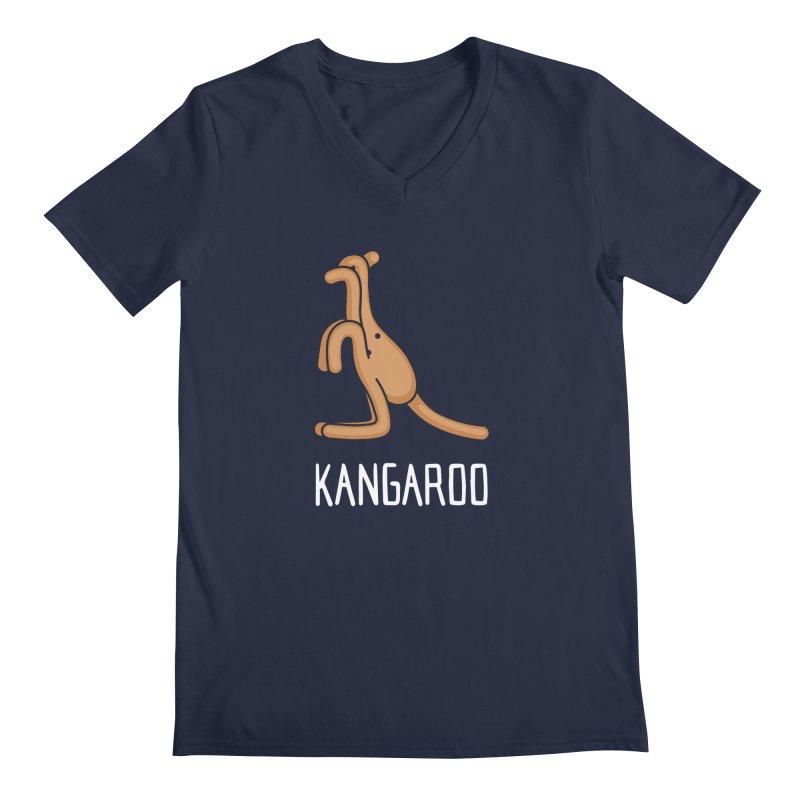 Kangaroo (Not an Octopus) Men's V-Neck by Gyledesigns' Artist Shop