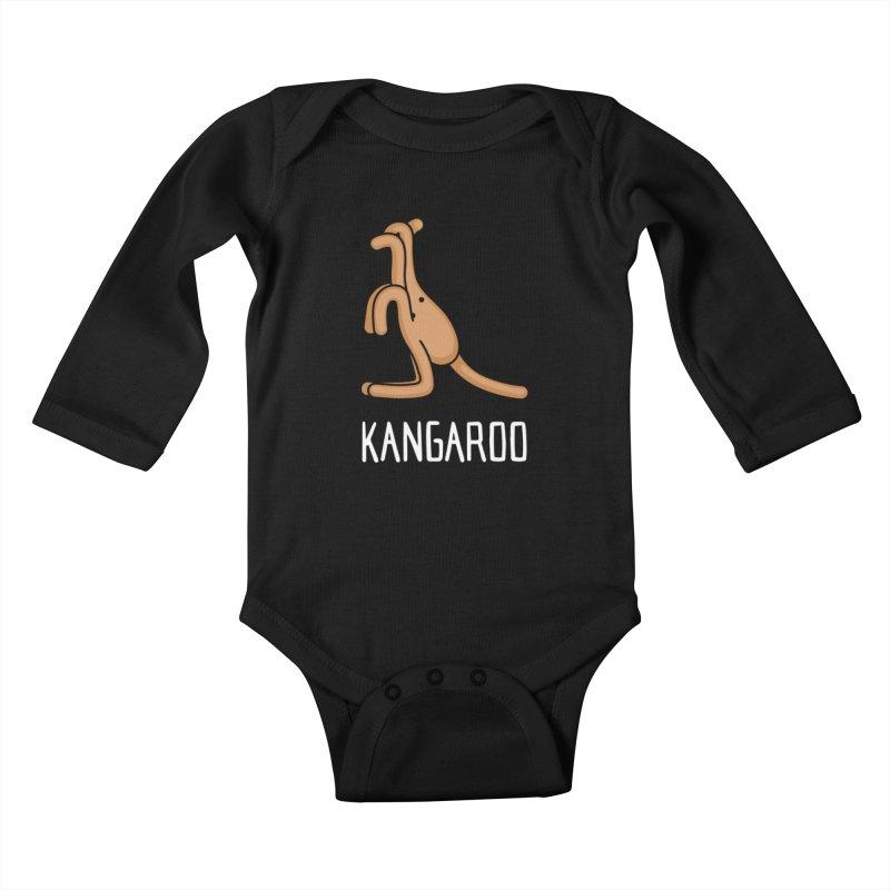 Kangaroo (Not an Octopus) Kids Baby Longsleeve Bodysuit by Gyledesigns' Artist Shop