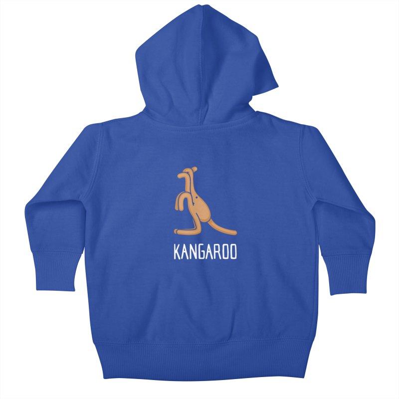 Kangaroo (Not an Octopus) Kids Baby Zip-Up Hoody by Gyledesigns' Artist Shop