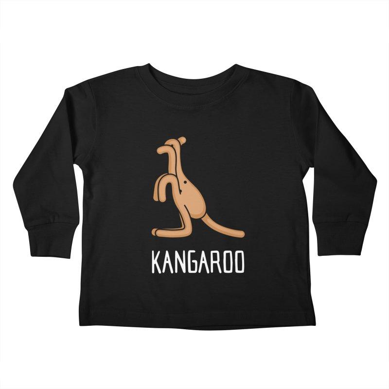 Kangaroo (Not an Octopus) Kids Toddler Longsleeve T-Shirt by Gyledesigns' Artist Shop