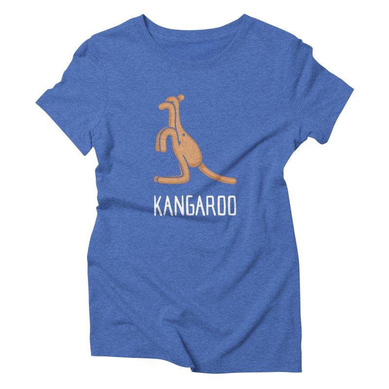 Kangaroo (Not an Octopus) Women's Triblend T-shirt by Gyledesigns' Artist Shop