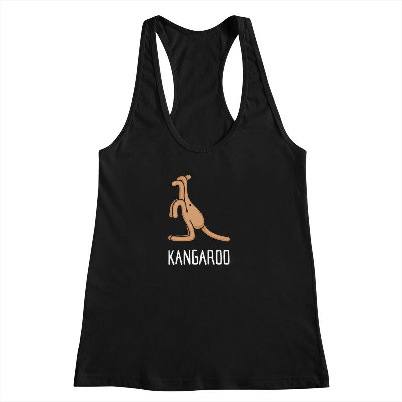 Kangaroo (Not an Octopus) Women's Racerback Tank by Gyledesigns' Artist Shop