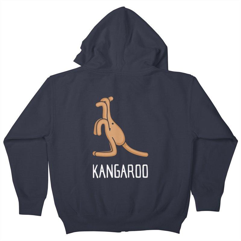 Kangaroo (Not an Octopus) Kids Zip-Up Hoody by Gyledesigns' Artist Shop