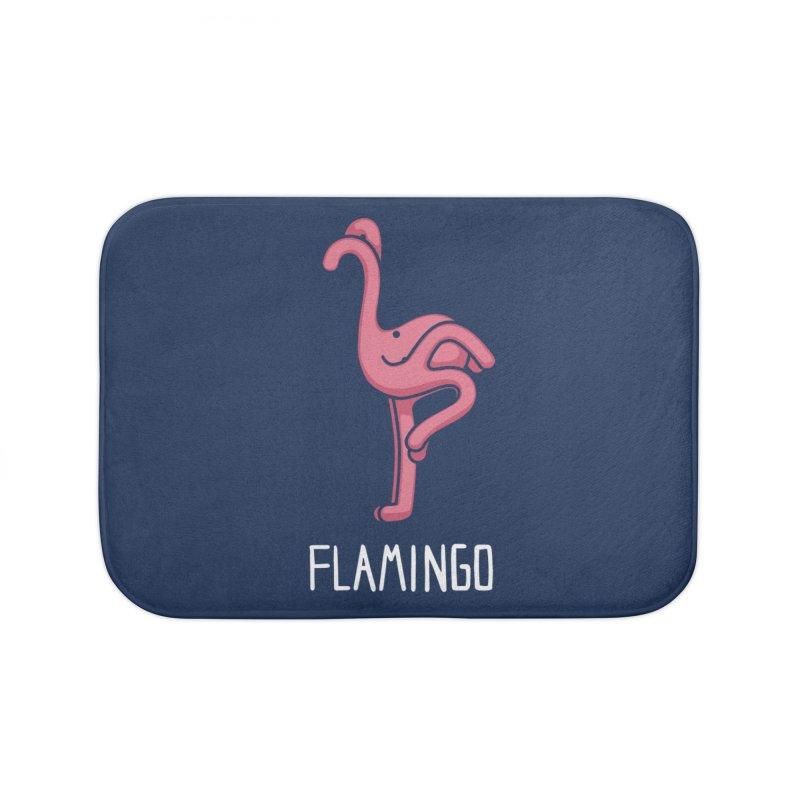 Flamingo (Not an Octopus) Home Bath Mat by Gyledesigns' Artist Shop
