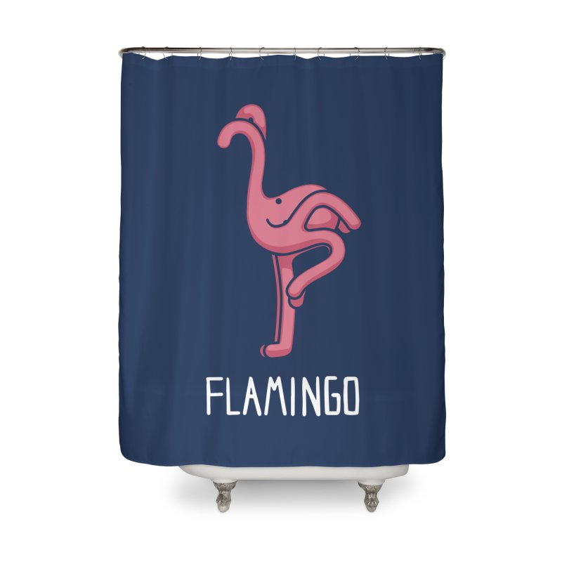 Flamingo (Not an Octopus) Home Shower Curtain by Gyledesigns' Artist Shop