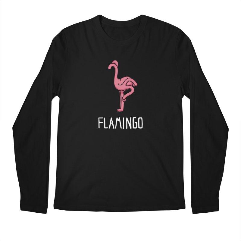 Flamingo (Not an Octopus) Men's Longsleeve T-Shirt by Gyledesigns' Artist Shop