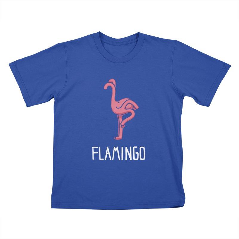 Flamingo (Not an Octopus) Kids T-shirt by Gyledesigns' Artist Shop