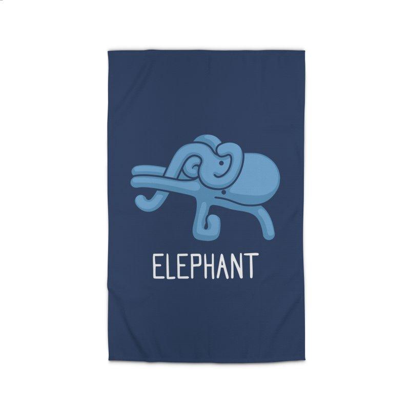 Elephant (Not an Octopus) Home Rug by Gyledesigns' Artist Shop