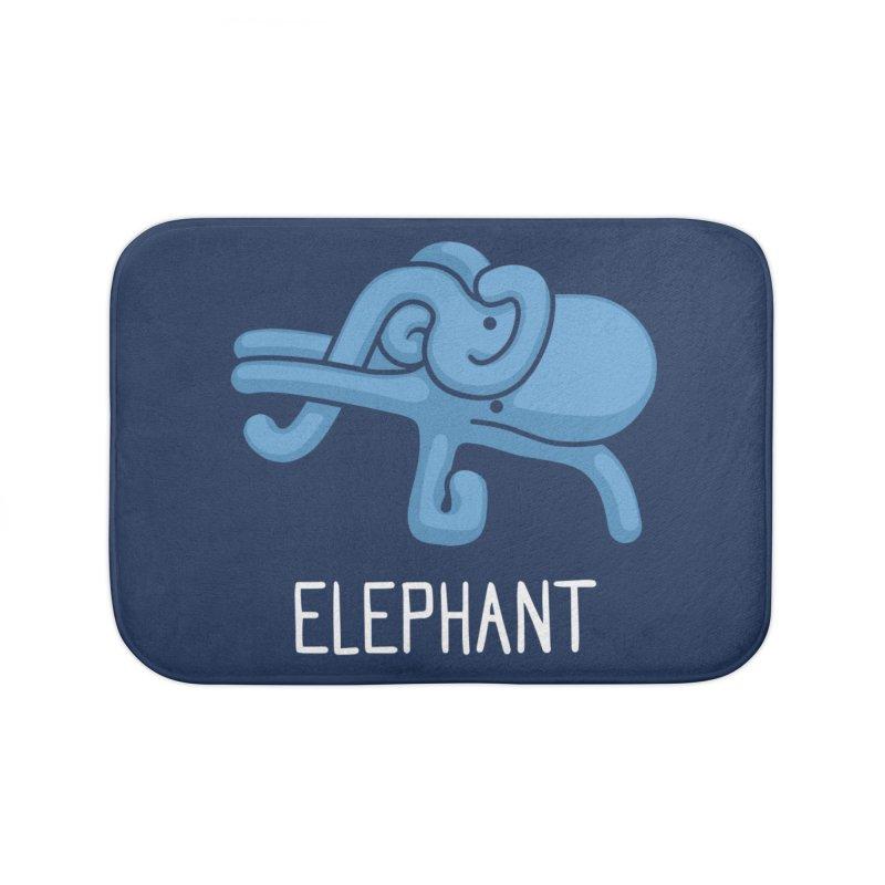 Elephant (Not an Octopus) Home Bath Mat by Gyledesigns' Artist Shop