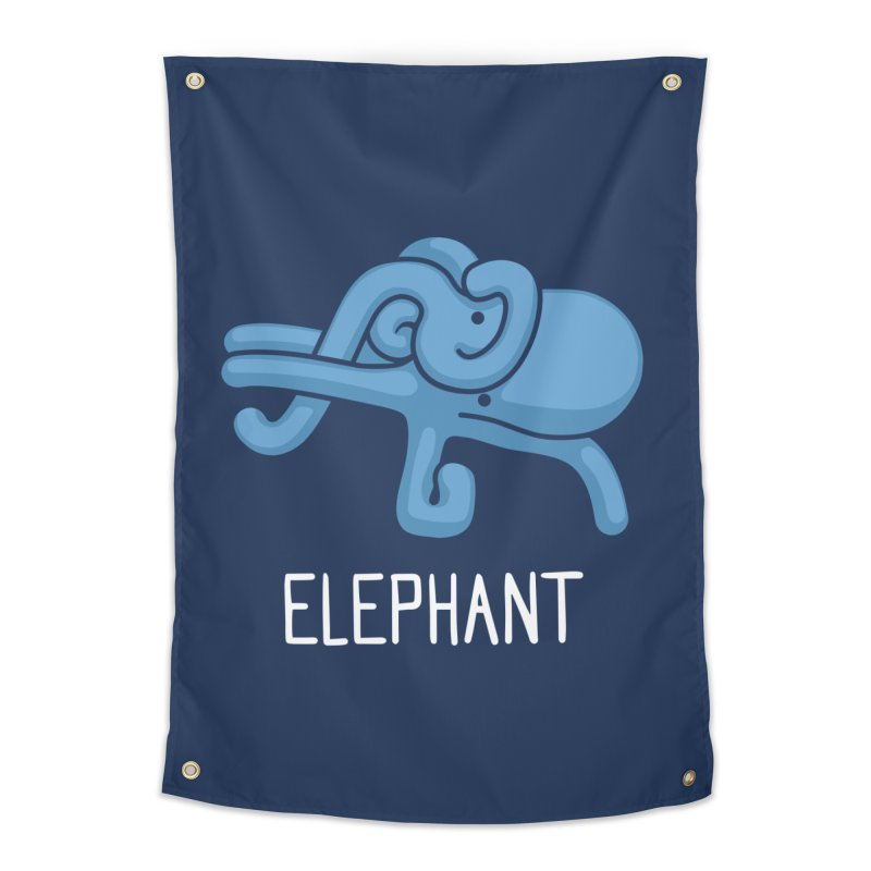 Elephant (Not an Octopus) Home Tapestry by Gyledesigns' Artist Shop