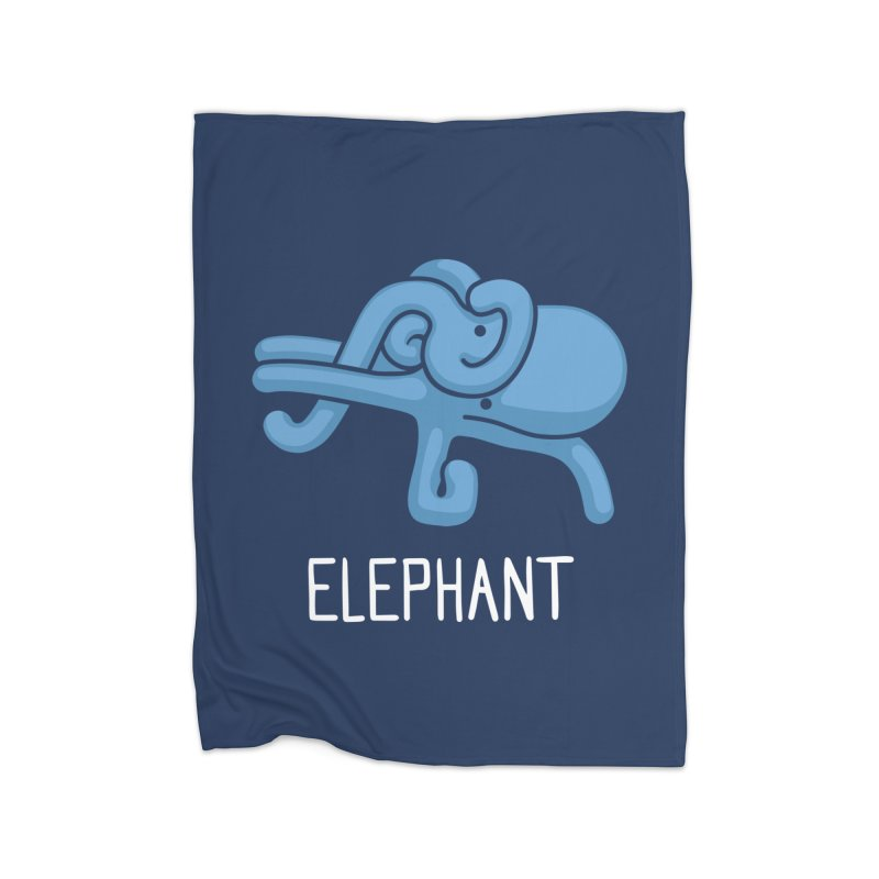 Elephant (Not an Octopus) Home Blanket by Gyledesigns' Artist Shop