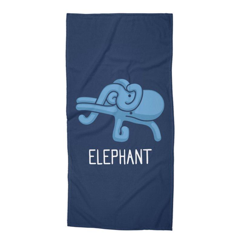 Elephant (Not an Octopus) Accessories Beach Towel by Gyledesigns' Artist Shop