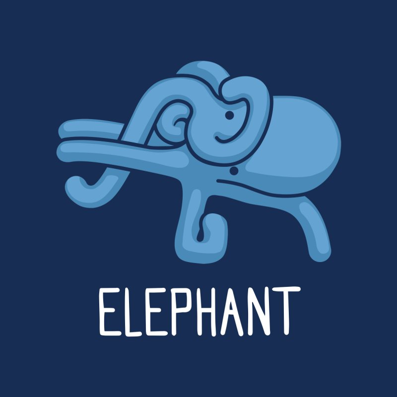 Elephant (Not an Octopus) by Gyledesigns' Artist Shop