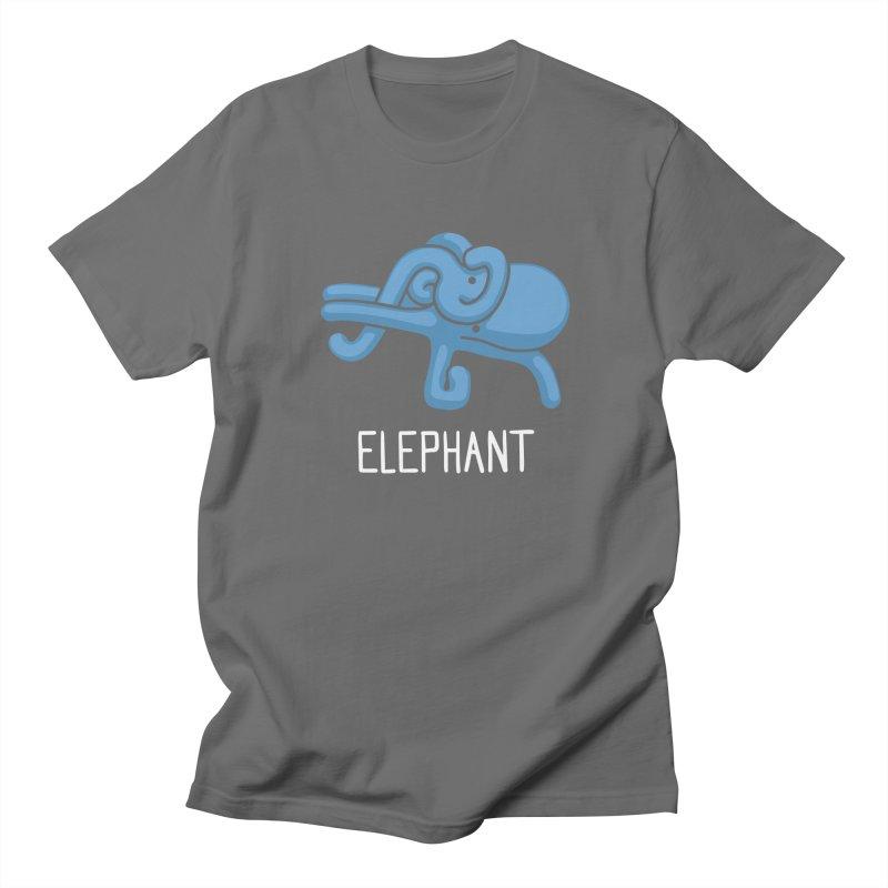 Elephant (Not an Octopus) Men's T-shirt by Gyledesigns' Artist Shop