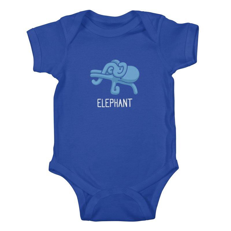 Elephant (Not an Octopus) Kids Baby Bodysuit by Gyledesigns' Artist Shop