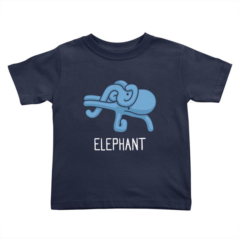 Elephant (Not an Octopus) Kids Toddler T-Shirt by Gyledesigns' Artist Shop
